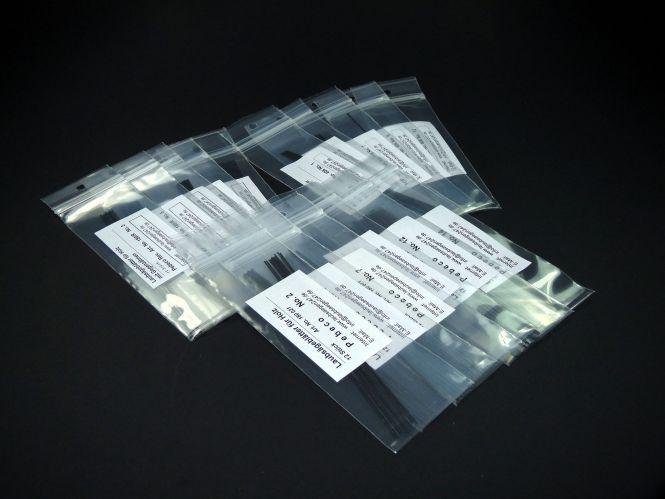 Laubsägeblätter Pebeco, Pebeco Reverse und Niqua Top Cut für die Dekupiersäge